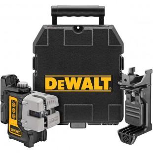 Лазерный самовыравниватель 3-х плоскостной (гориз+верт+бок) DeWALT DW089K