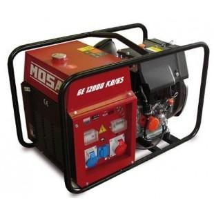 Дизельный генератор MOSA GE 12000 KD/GS (9.6 кВт)