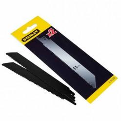 Комплект из 2-х запасных полотен для универсальной ножовки STANLEY 3-20-220